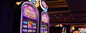 Landbaserat casino med slots